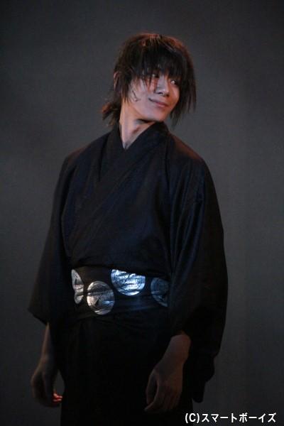 吉田稔麿役の松田岳さん