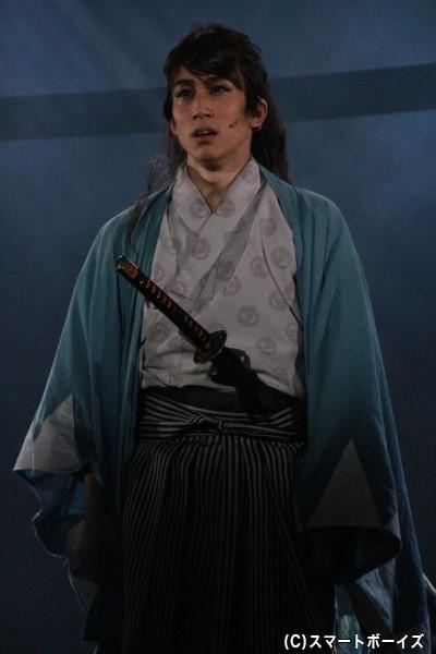 沖田総司役の鐘ヶ江洸さん