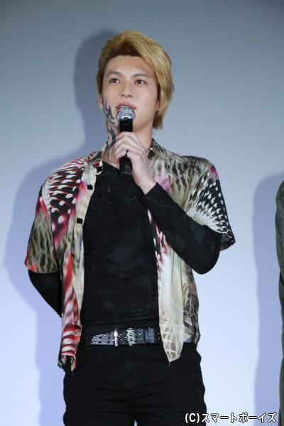 紅井レオ役の荒井敦史さん