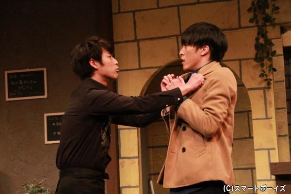 鎌苅さんと松島さんが衝突!? 松島さんが演じる役を知れば納得かも