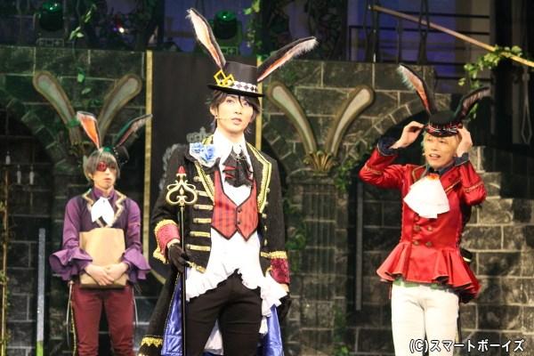 黒兎王国の王・始は民衆の尊敬を集める存在だが、何やら悩みを抱えている様子