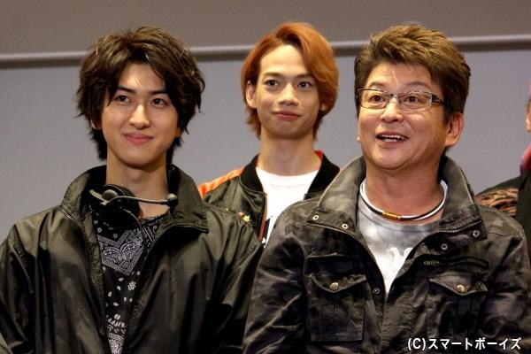 哀川さんと相葉さんが演じる舞台監督の師弟関係&アルバイト青年を演じる池田さんの変化にも注目!