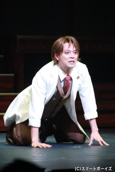 リアン・ストーカー役の河合龍之介さん