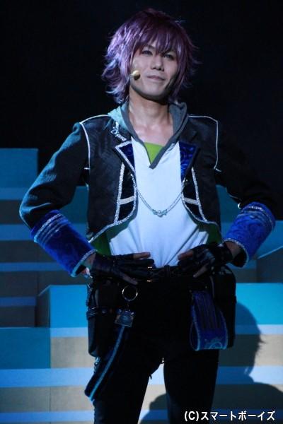 フェンリル=ゴッドスピード役の宮城紘大さん
