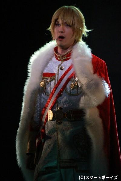 ランスロット=キングスレー役の塩川渉さん