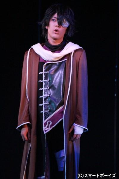 ハール=シルバー役の久保田幸貴さん