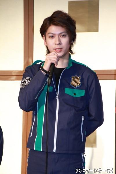 パトレン2号/陽川咲也役の横山 涼さん