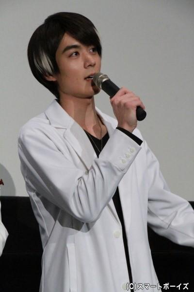 花家大我/加盟ライダースナイプ役の松本享恭さん