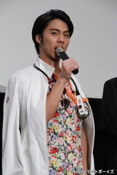 九条貴利矢/仮面ライダーレーザー役の小野塚勇人さん