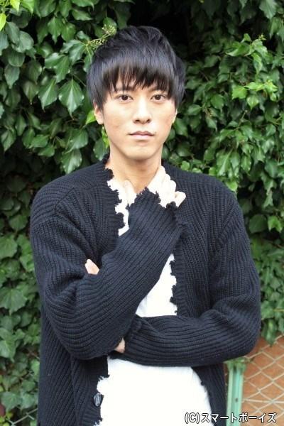 沖田総司役の松島庄汰さん「天才剣士の沖田総司らしい殺陣を見せられるように頑張ります!」