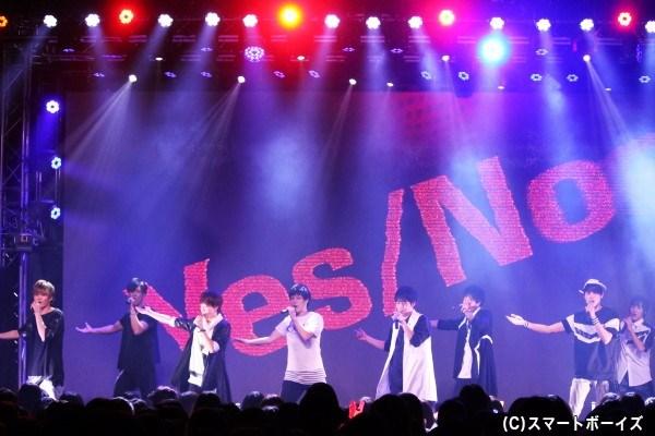 ラストナンバー「Yes/No」で、盛り上がりは最高潮に!