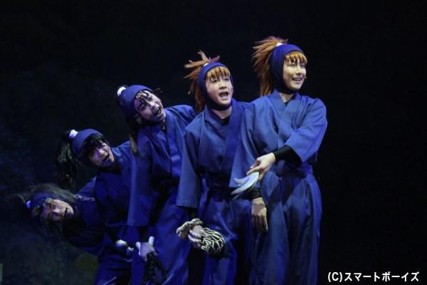 五年生5人組の伸び盛りな忍術が、どこまでドクタケ忍者隊に通用するのか!?
