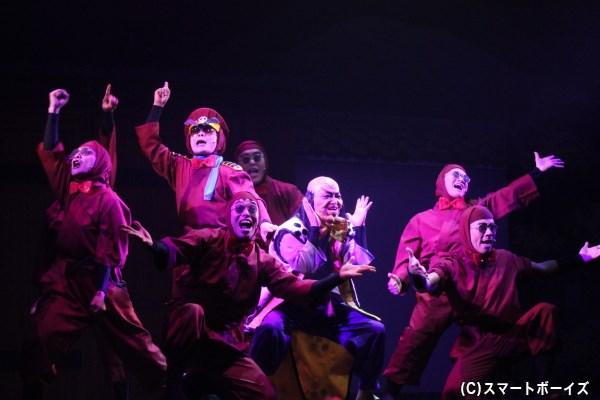 ドクタケ忍者隊は我が世の春を謳歌! ドクタケファンは本公演、必見!