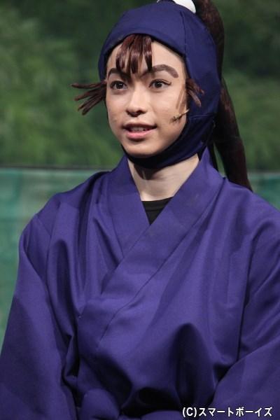 尾浜勘右衛門 役・佐藤智広さん