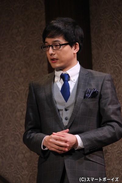 マシューの学生時代の旧友ロジャー役 伊藤裕一さん