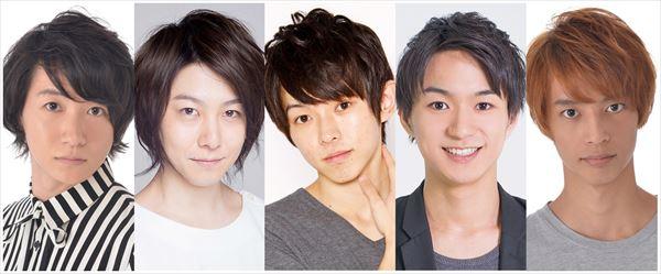 (左から)吉田翔吾さん、久下恭平さん、佐藤智広さん、山木透さん、栗原大河さん