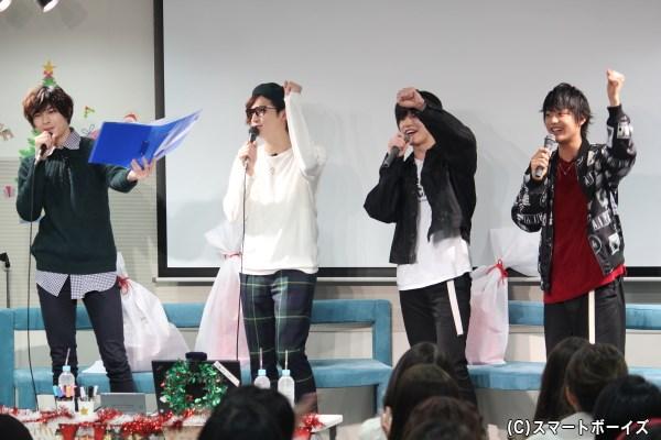 「遊馬晃祐チャンネル~!88888~」のコールで公開生放送はスタート!