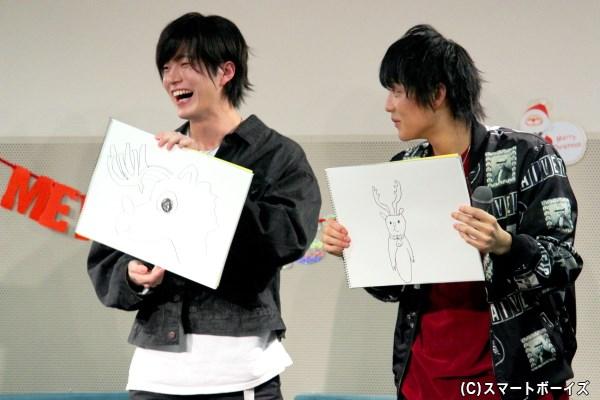 松田さんと健心さんのイラストには、とんでもない疑惑が!DVDでチェック!