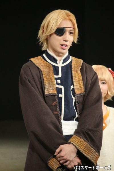 シュアン役の有澤樟太郎さん