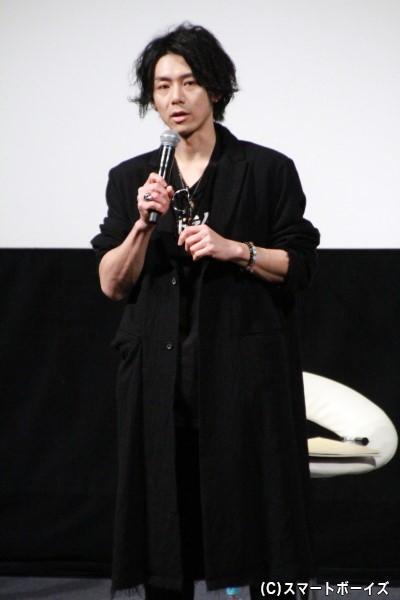 増島高志役の富田翔さん