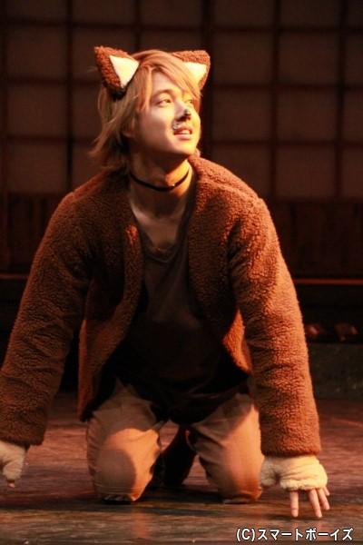 犬太(けんた)役の坂田隆一郎さん