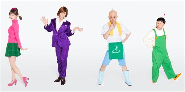 トト子・イヤミ・チビ太・ハタ坊のキャラクタービジュアル