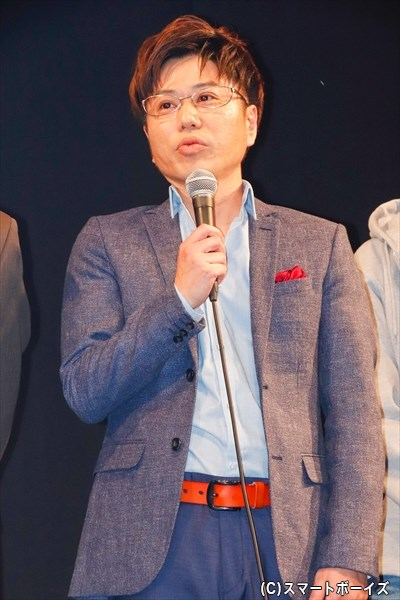 ■沢木和生 役/川谷修士さん(2丁拳銃)