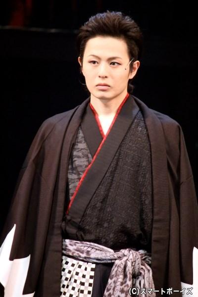 土方歳三役の荒木宏文さん