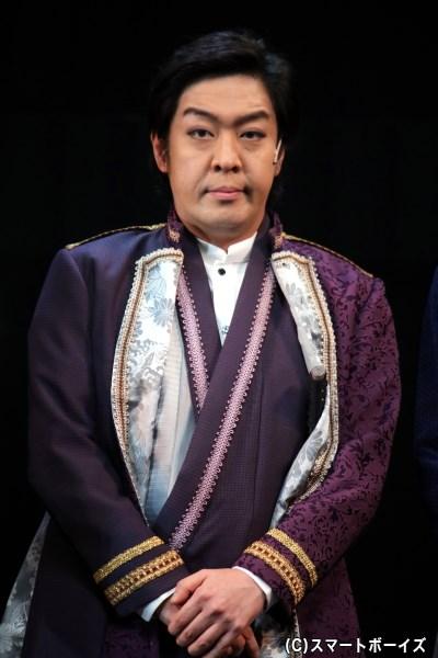 桂小五郎役の中村亀鶴さん