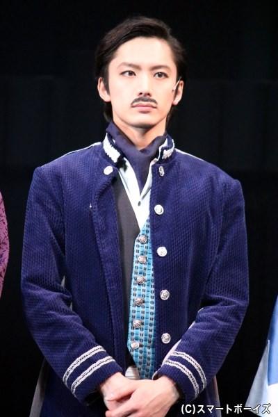 榎本武揚役の久保田秀敏さん