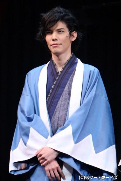 横倉甚五郎役の健人さん