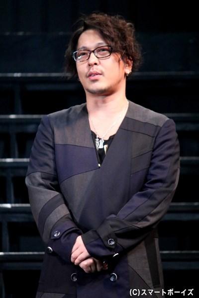 作・演出の西田大輔さん
