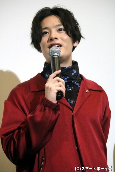 蓉一に好意を寄せる、美大でのクラスメイト・藤本浩輝役の塩野瑛久さん