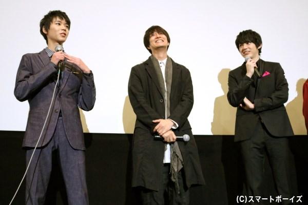 渡邉さん&天野さんは、現役中学生の小原さんが可愛くて仕方がない様子!