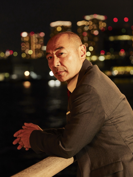 武藤総理 役 高橋克実さん