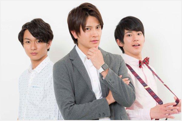 (左から)山木透さん、財木琢磨さん、阿部快征さん