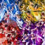 青学(せいがく)・立海・六角・比嘉の総勢34名が一堂に会した迫力満点のビジュアル