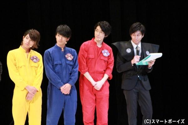 ≪水曜担当≫ (左より)谷水力さん、小早川俊輔さん、太田裕二さん、三上真史さん