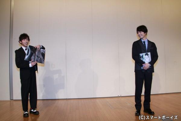 イベントゲストに出演した葉山昴さんもお気に入り写真を披露