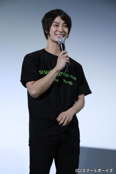 「がむしゃらソールド・アウト!」に出演の高崎翔太さん