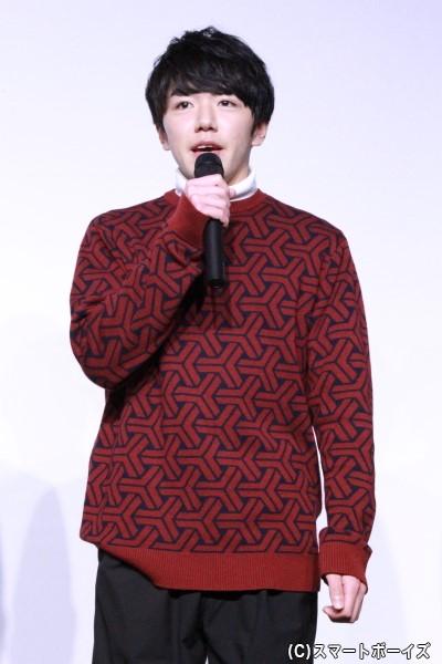 丸福役の月岡弘一さん
