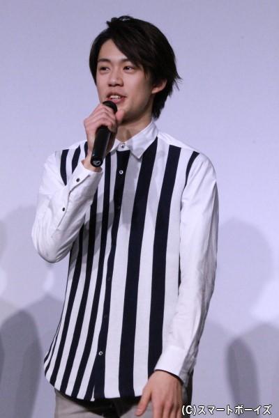 道卓役の前川優希さん