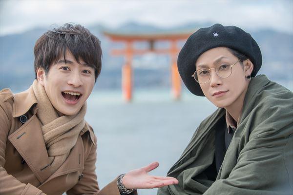 (左から)村井良大さん、玉城裕規さん