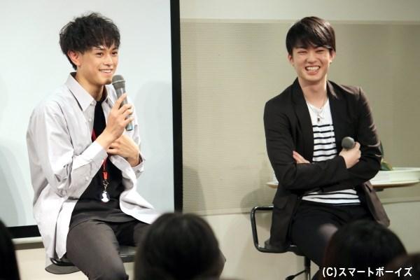 前田隆太朗さんがカレンダー撮影の裏話&ゲスト・大薮丘さんとプライベートもトーク!