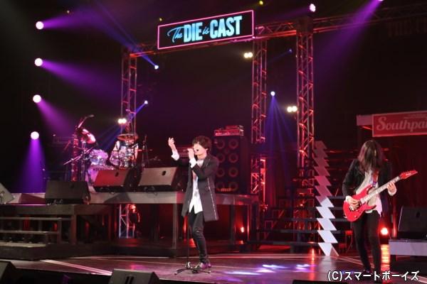 """ツインベース編成の5人組バンド""""The DIE is CAST"""""""