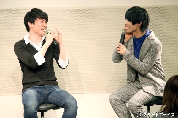 大薮さんと志村さんの仲良しぶり&青春エピソードに、会場中がほっこり