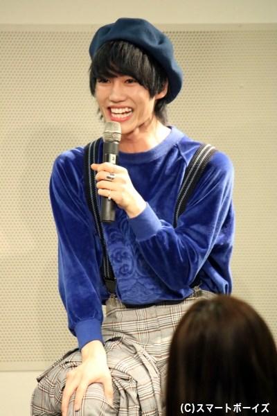 「いつもブログのタイトルが長すぎ!」と、志村さんから大薮さんへのツッコミトークも(笑)