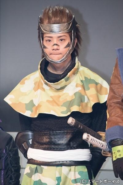 ■猿飛佐助 役/椎名鯛造さん