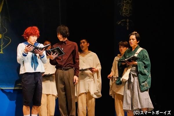 村の学校に転校してきた謎の少年・高田三郎。生徒たちに又三郎というあだ名を付けられる。