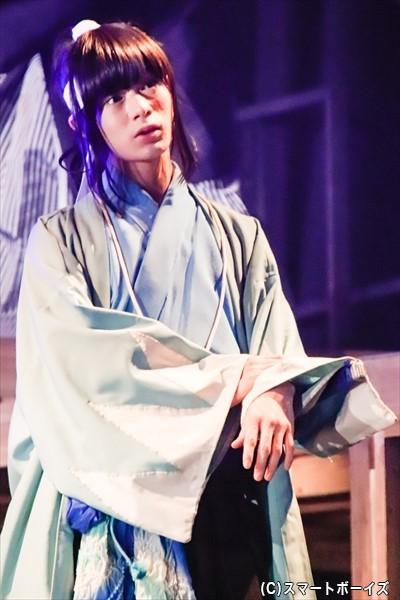 大平峻也さん演じる沖田総司の華麗な殺陣も必見